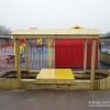 Small Lockable Sandpit Play Boat