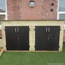 Double Toy Storage Bunker