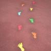 Footprints Playground Markings