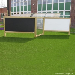 Free Standing Chalk, Draw and Paint Panel
