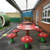Mushroom Table and Seats