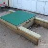 Mini Sandpit with Lockable HDPE Lids