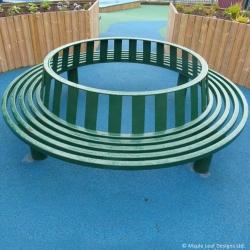 Metal Round Seat