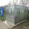 Galvanised Steel Storage Container