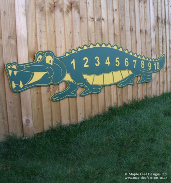Number Crocodile
