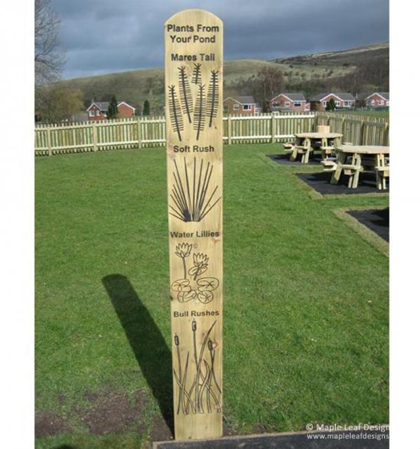 Plants Totem Pole