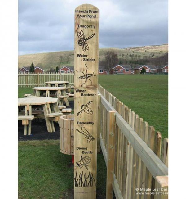 Pond Totem Pole