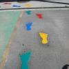 Footprints Markings