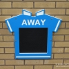 Football Shirt Chalkboards