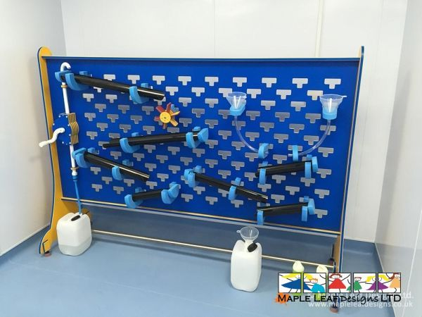 Movable Interactive Water Wall