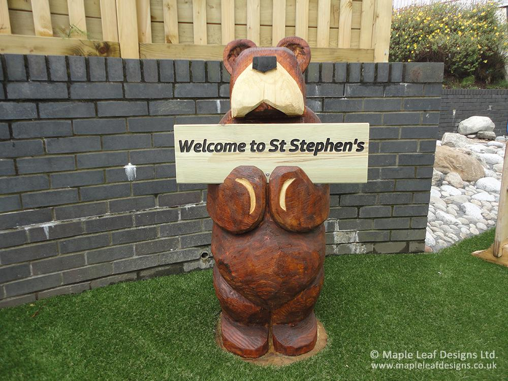 St Stephen's Primary School - After Development