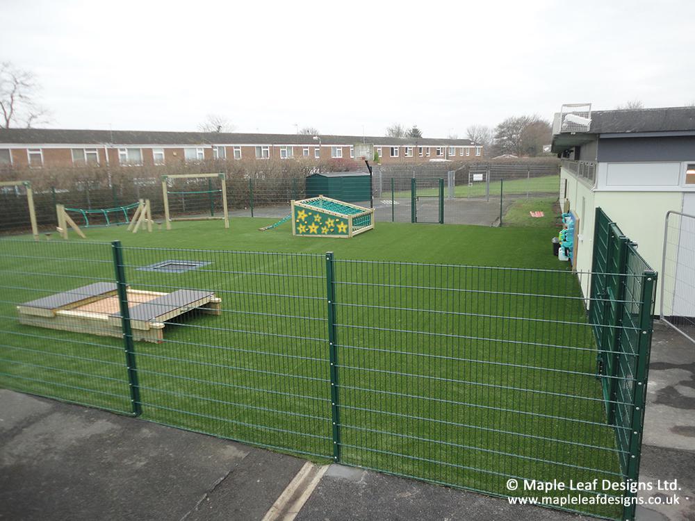 Kingfisher School - After Development