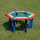 Rainbow Recycled Tree Seat
