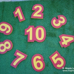1-10 Number Panels