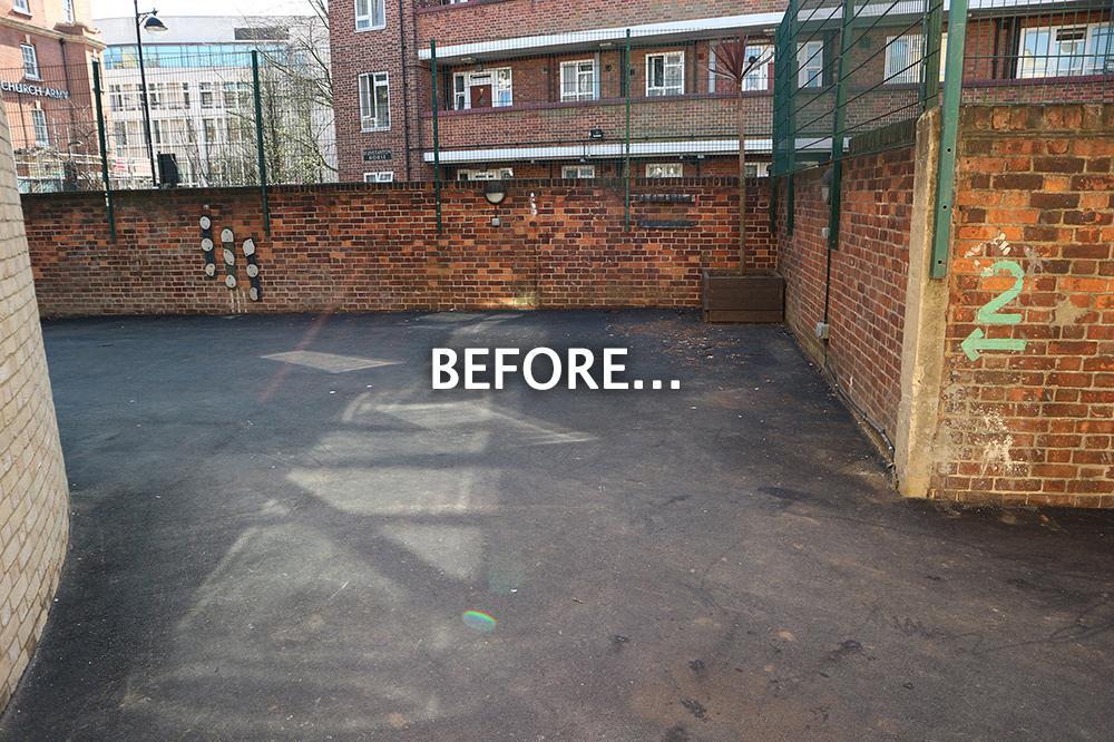 Christ Church Bentinck CofE Primary School - Before Development