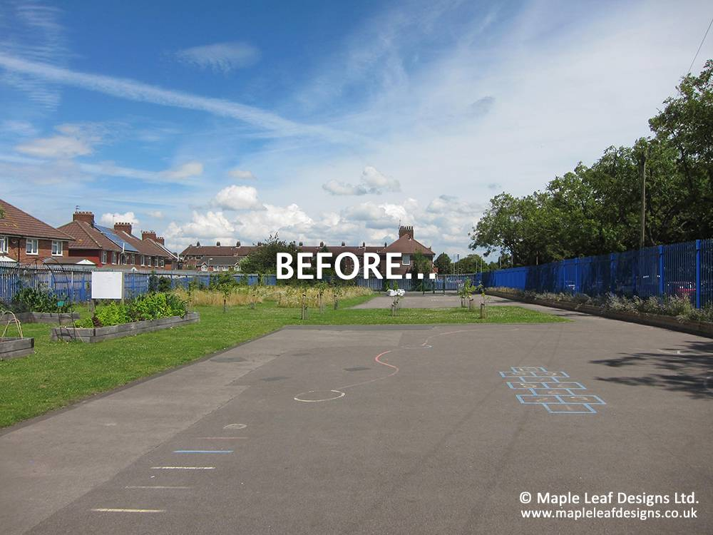 St Teresa of Lisieux Catholic Primary School - Before Development