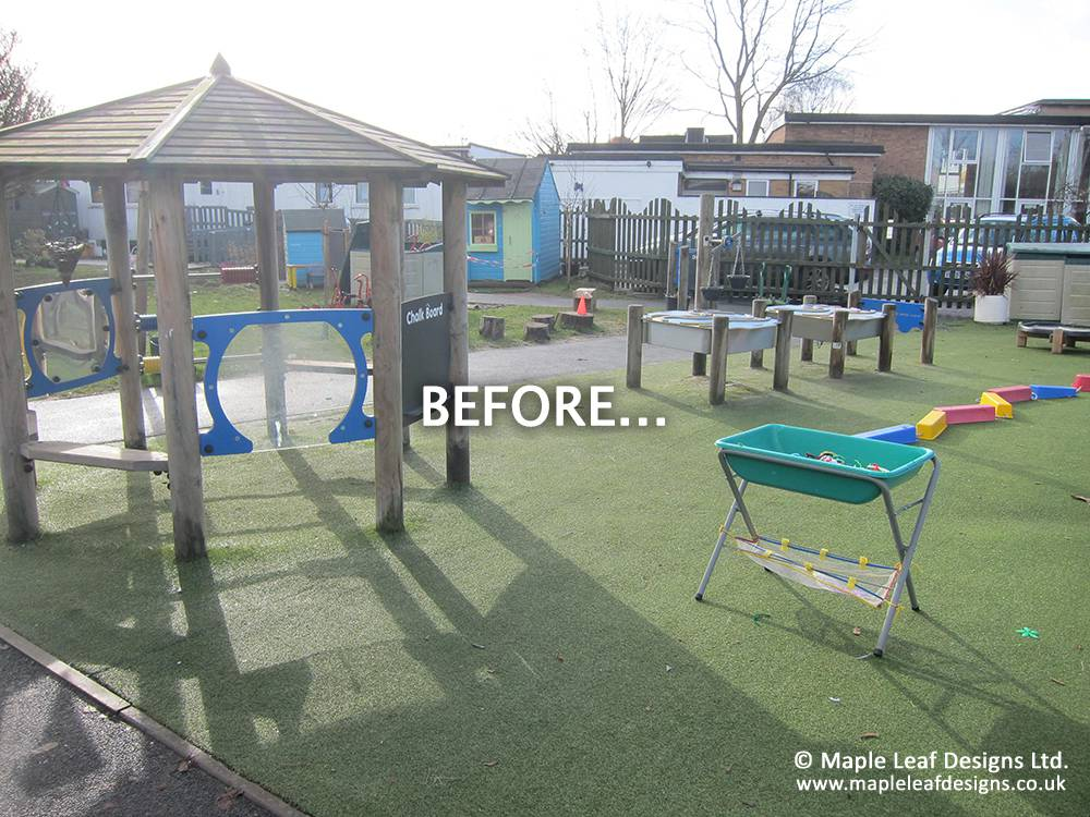 Franche Primary School - Before Development