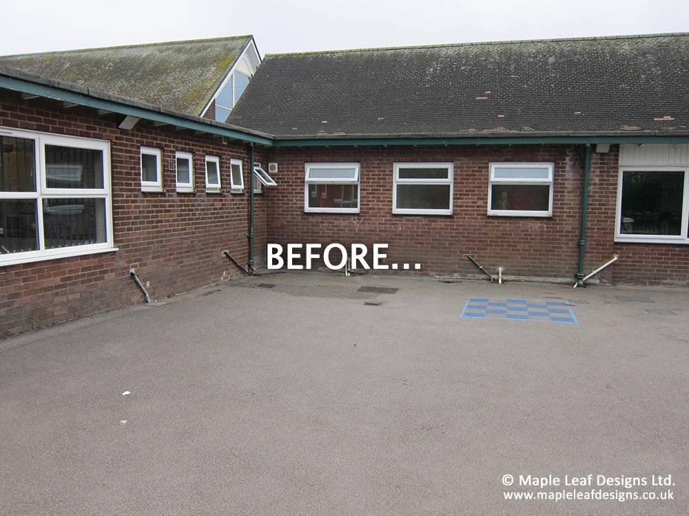 Norris Bank Primary School - Before Development