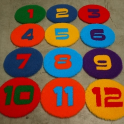 Artificial Grass Numbers