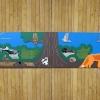 Large Tactile Woodland Panel