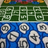 Artificial Grass Hopscotch