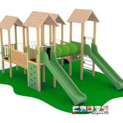 Wildwood Mammoth Play Tower_1