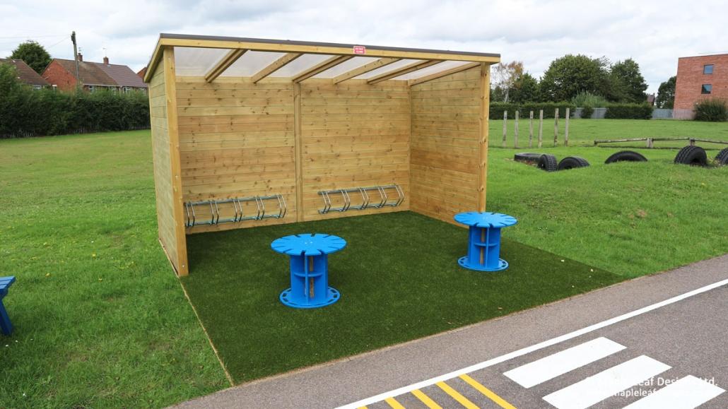 Brackenfield-Special-School_Bike-Shelter
