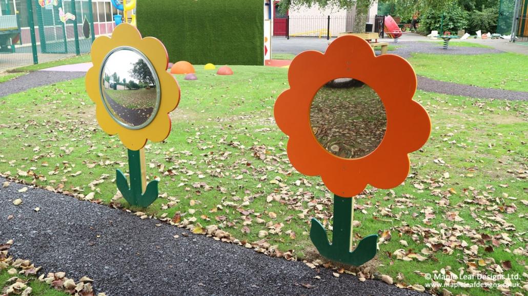 Brackenfield-Special-School_Flower_Mirrors