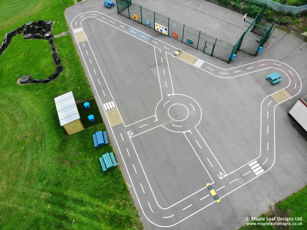 Brackenfield-Special-School_Trackway