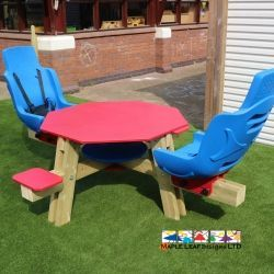 Adjustable Dual Seated Picnic Table
