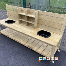 Rrustic Mud Kitchen