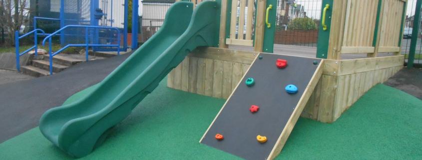 Bespoke Slide & Ramp Unit